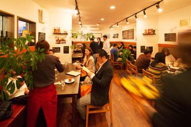 スペインん料理店エステーリャ 店内の様子