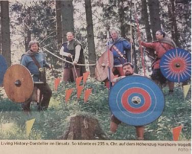 """Zeitungsartikel aus dem """"Gandersheimer Kreisblatt"""""""