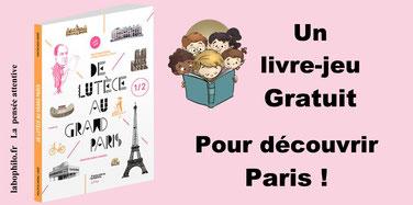 Livre-jeu sur PARIS