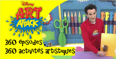 ART ATTACK: 360 épisodes