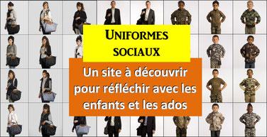 UNIFORMES SOCIAUX: un site pour réfléchir
