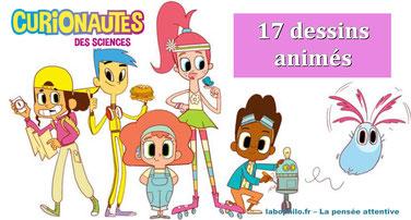 """""""Curionautes des sciences: 17 épisodes"""