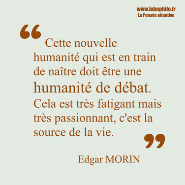 Edgar Morin citation