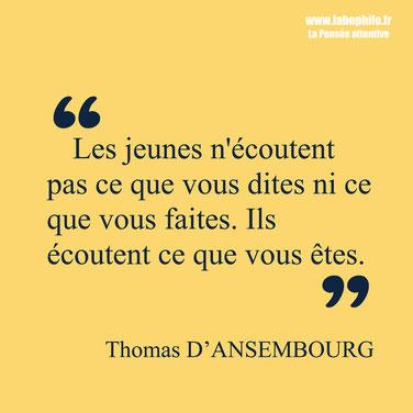 Thomas d'Ansembourg citation
