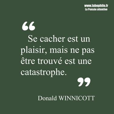Donald Winnicott citation