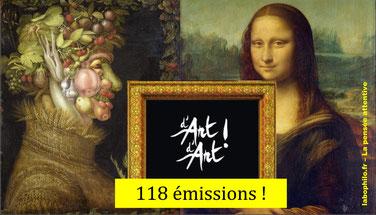 D'ART D'ART: 118 émissions