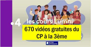 COURS LUMNI: 670 vidéos