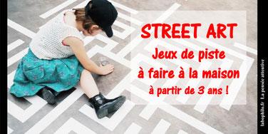 STREET ART à la maison!