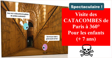CATACOMBES: visite guidée