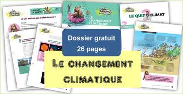 CHANGEMENT CLIMATIQUE: dossier péda