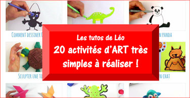 20 tutos d'ARTS PLASTIQUES simples