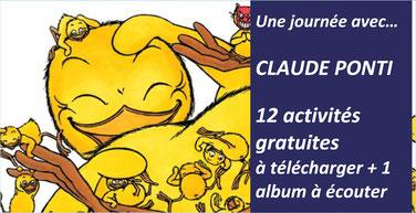 CLAUDE PONTI: 12 activités gratuites