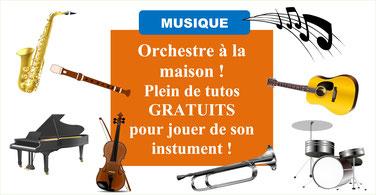 ORCHESTRE A LA MAISON: tutos