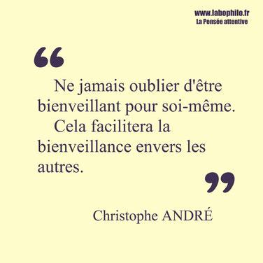Christophe André citation