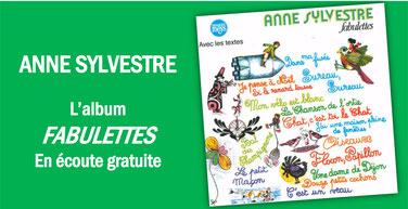 ANNE SYLVESTRE: FABULETTES en écoute gratuite