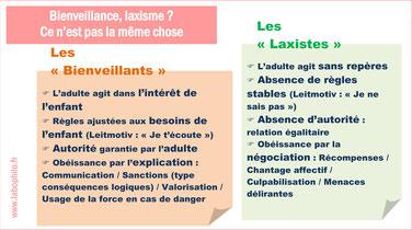BIENVEILLANCE ou LAXISME?