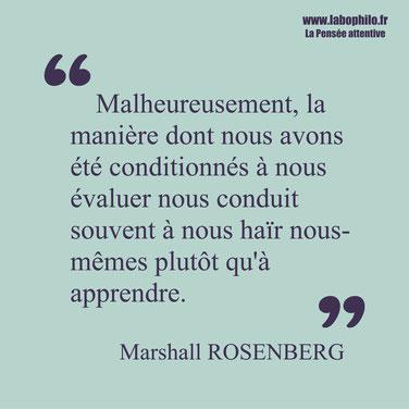 Marshall Rosenberg citation apprendre