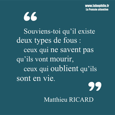 Matthieu Ricard citation