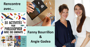 """Interview d'Angie et Fanny, autrices de """"50 activités..."""""""