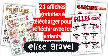 21 affiches d'ELISE GRAVEL