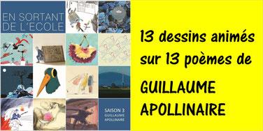 APOLLINAIRE: 13 poèmes en animation