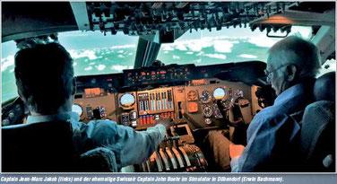 Bericht aus dem Jetstream zum Jumbo B-747 Airforce-one