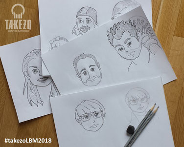 Warmup zeichnen zur LBM