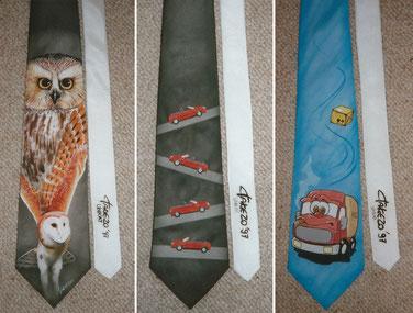 Illustrierte Krawatten 1