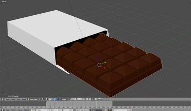 Schokolade Material