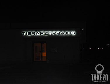 Profil3 LED-Schrift Nacht