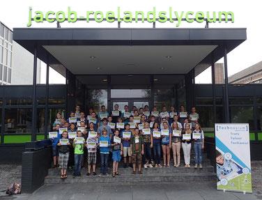 Technasium Brabant-Oost: het Jacob-Roelandslyceum (JRL) in Boxtel is een Technasium. Leerlingen kunnen kennis maken met onderzoeken en ontwerpen door uitdagende opdrachten van bedrijven.