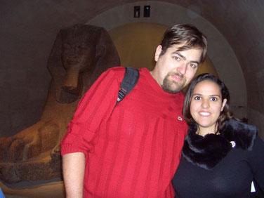 Innerhalb vom Museum Louvre