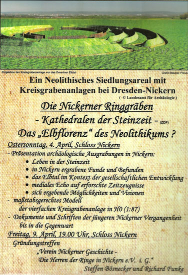 Kreisgrabenanlagen in Nickern