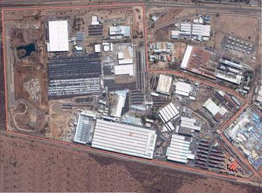 Usine Nissan Afrique du Sud