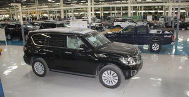 Usine Stallion Motors Nigéria