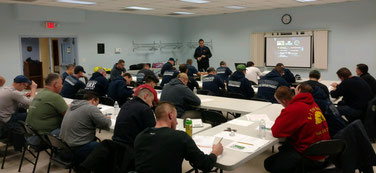 CEVO training at Forest Road Park
