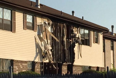 Country Club Lane Apartment Fire - Scotch Plains