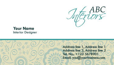 визитка дизайнеру одежды, визитная карточка креативная