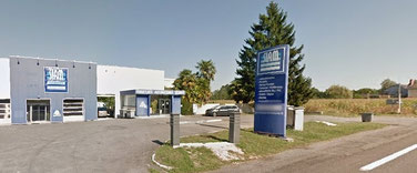 Extérieur entreprise Akia France et SIAM à Pau en Nouvelle Aquitaine