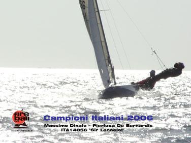 Massimo Dinale e Pierluca De Bernardis Campioni Italiani Fireball 2006