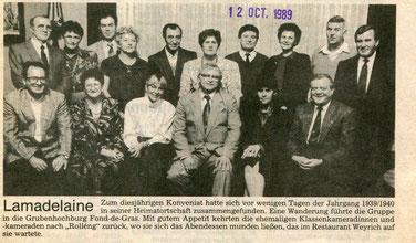Konveniat den 12.10.1989 - Joergäng 1939-1940