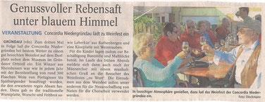 Quelle: Gelnhäuser Tageblatt 08.09.2014