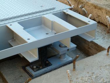 Galvanized weighbridges for trucks