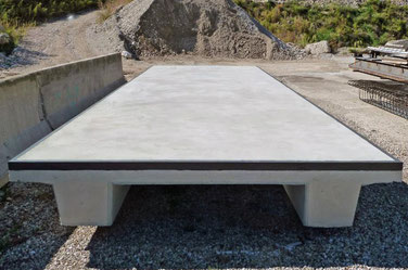 pesa a ponte in cemento Rovereto Trento