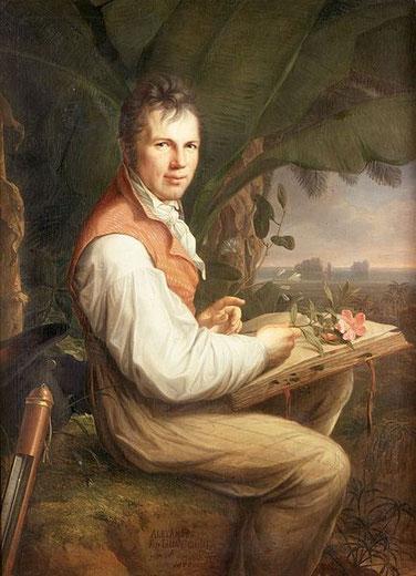 Alexander von Humboldt, Ölbild, Friedrich Georg Weitsch, Alte Nationalgalerie Berlin, Wikipedia