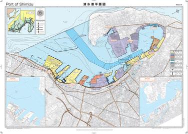 清水港平面図 2017年版