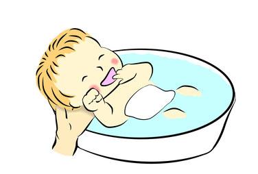 新生児沐浴ケア 育児相談