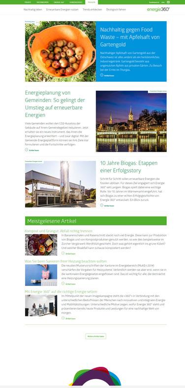 Digitalmagazin von Energie 360°