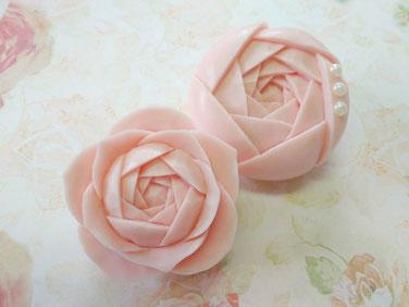 切り出しのバラ