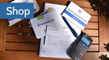 Mathe Spickzettel A6 für einfaches lernen